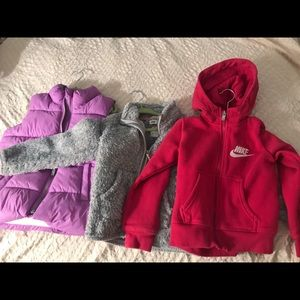 Fall/winter clothing girl's 4T